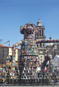 Escultura Aerosoles méjico